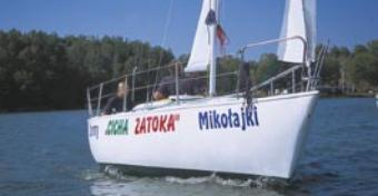 Test jachtu Sportina 595