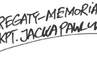 Memoriał Kpt. Jacka Pawluk, ix regaty