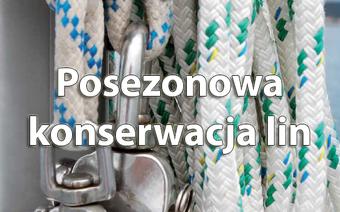Porady żeglarskie: Posezonowa konserwacja lin