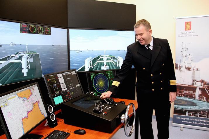 Nowy symulator w Akademii Morskiej w Szczecinie
