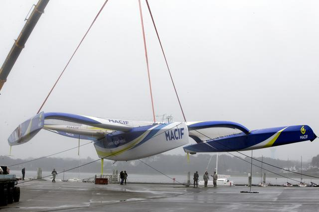 """Nowy """"MACIF"""" gotowy. Gabart spróbuje pobić rekord samotnej żeglugi non stop dookoła świata"""
