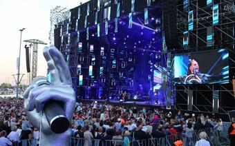 Koncert The Voice of Poland podczas wielkiego finału TTSR