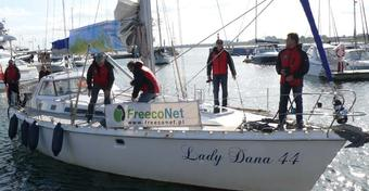 """""""Lady Dana 44"""" wróciła z Arktyki do Sopotu"""
